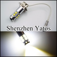 2pcs H3 50W CREE High Power LED Xenon White Fog Light Daytime Running
