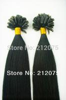 "12""-28""inches 4sets/lot Mix length Keratin Nail Tip U-Tip human hair extension *Brazilian virgin straight hair*Free shipping"
