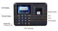 2013 Biometric Fingerprint Time Clock Recorder Attendance Employee Digital Electronic Punch Reader Machine