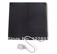 NEW! 4.5W 6V Solar Charger Solar Cell Monocrystalline Solar Panel Charger For Power Bank DIY Solar Mobile Charger Free Shipping