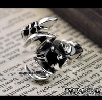 Scorpion pure silver ring silver pirate 925 pure silver ring scorpion ring pure silver ring opening