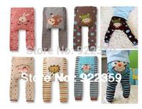 New Arrive Children PP Long Pants Cartoon Legging Cotton Baby Trousers Girls&Boys Wear Free Shipping 6pcs/lot