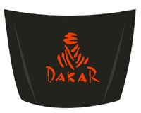 car hood stickers DAKAR car hood decal free shipping new many colors