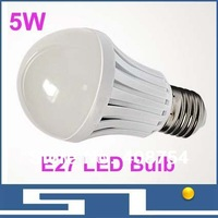 home decorated SMD2835 LED bulb lights, 5W bulb 450lm, E27base lamp,220V-240V input,Energy-saving, 20pcs/lot, free shipping