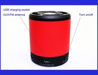 2014 mini speaker wireless bluetooth speaker subwoofer speaker system for bluetooth player Free shipping