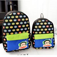 brand  Children's backpacks girls printing Backpack child cute dot School bags Satchel book bag Bookbag