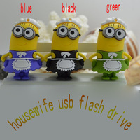 Real capacity Despicable Me 2 housewife 2G 4G 8GB 16GB 32GB 64GB USB 2.0 Flash Memory Stick Drive U Disk Festival Thumb/Car/Pen