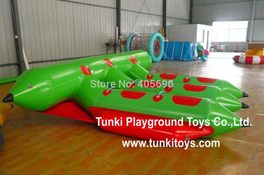 inflatable water games flyfish banana boat(China (Mainland))