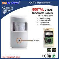 "High quality! 1/4""CMOS 900TVL Hidden Security CCTV Camera Mini Video Surveillance 18pcs&5 leds, IR 15M  lense: f=3.7mm"