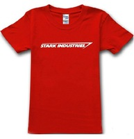 STARK INDUSTRIES TONY STARK IRON MAN MENS T SHIRT DIFFERENT MENS CLOTHING COLOURS AND SIZES XS-XXL t-shirts tees camisas top