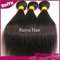 """Queen weave beauty 5A brazilian virgin hair straight 3pcs/4 pcs lot cheap human hair extension 8""""-30"""" best brazilian hair weaves"""