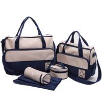2014 Hot Bolsa de bebe Baby bag diaper nappy bags bolsa maternidade with changing pad para women men messenger bags handbag