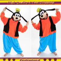 Wholesale Adult Fleece Animal Lovely Goofy Cosplay Costume Onesie for Women Men Sleepwear  Footed Pyjamas Animal Pajamas