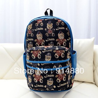 Free Shipping Factory Direct Sales PU Fashion Backpack Student School Bags