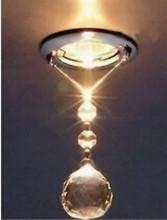 1pcs/lot führte kristall-downlight mini 3w led ac85-265v, warmweiß/kaltweiß 100-150lm, ce& rohs innenbeleuchtung