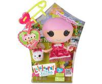 Free Shipping MGA Mini Bonecas Lalaloopsy doll original mini Girl Trinket Sparkles 20cm dolls & pet toys for children girls