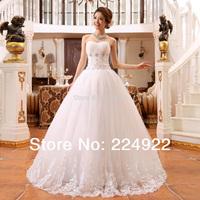 Pure White Wedding Dress 2014 The Bride Wedding Dress Formal Dress Tube Top Lacing Laciness Bandage Slim Princess Wedding Dress