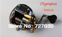 free shipping wholesale Sales promotion domestic well-known brand OLYMPUS high quality Big fish force 7000lb  Fishing reel