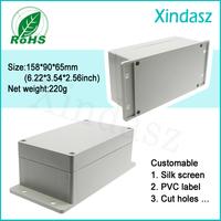 Wall mount enclosure ip65 outdoor shower enclosure plans waterproof plastic enclosure 158*90*65mm 6.22*3.54*2.56inch