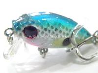 Fishing Lure Crankbait Hard Bait Fresh Water Shallow Water Bass Walleye Crappie Minnow Fishing Tackle C152X7