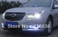 CAR LED DRL Chevrolet Cruze Daytime Running Light White and Blue lighting Free shipping