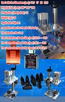 desktop  perfume metal bottle capping machine, semi automatic bottle capper manual sealer