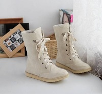 2013 fashion female flat wedding sexy leather ladies snow boots for women and women's autumn winter shoes Ma9