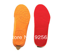 Free shipping ! Fashion Electric heated insole with remote control+1800mAh Li ion battery!