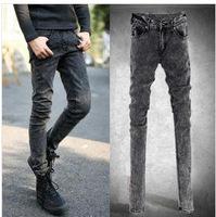 free shipping 2014 fashion cheap skinny jeans men