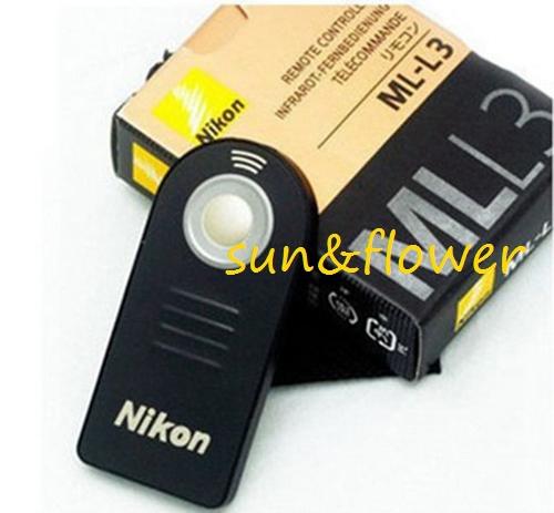 Free+shiping 20pcs Genuine ML-L3 Wireless Remote Control for nikon D40, D40X, D50, D60, D70, D70S, D80, D90, D600, D3000, D5000(China (Mainland))
