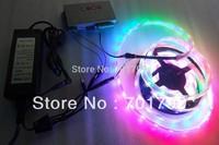 5m DC12V IP68 30leds/m INK1003 led pixel srip+T-1000S controller+12V/5A power adaptor lighting kit