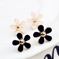 2188 accessories luxury small fresh fashion all-match daisy star style stud earring female  Free Ship