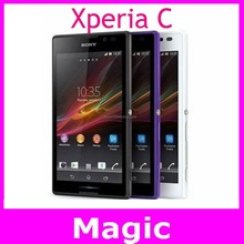 Original Unlocked Sony Xperia C GSM 3G Dual Sim Android Quad-Core S39H C2305 5.0″ 8MP WIFI GPS 4GB ROM Smartphone