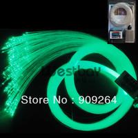 300PCS*0.75MM LED fiber optic star ceiling kit with 1m long fiber+5W light engine+ remote contoller+16 color