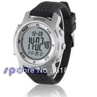 Freeshipping High Quality Spovan Outdoor Hiking Multifunction Altimeter Barometer Fishing Table Compass Sports Watch