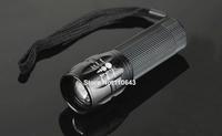 Waterproof Adjustable LED Flashlight Portable Mini Flashlight Zoom Flashlight Lamp Hand Torch Lamp 19028