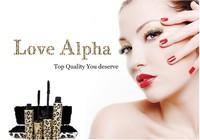 2014 5Set =10Pcs New Love Alpha Brand Waterproof Mascara with Partner Leopard Package  1Set =2Pcs Makeup