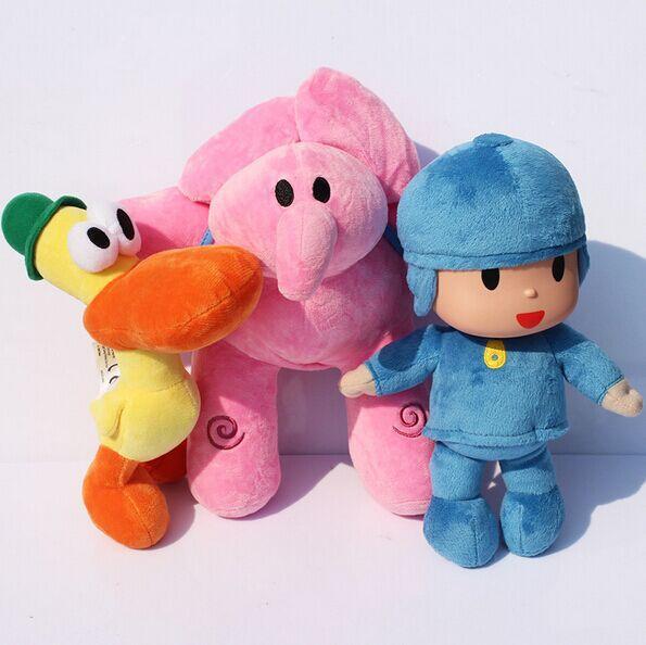 Детская плюшевая игрушка Pocoyo plush EMS 30sets Pocoyo 25/30 цена и фото