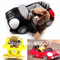 New 2014 pet products,Pet Dog cat warm soft car bed/house/kennel, black, yellow,red color, free shipping