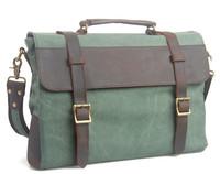 Fashion Desigual Canvas Bag Leather Handbag Men Briefcase Shoulder Bags Free Shipping A2330