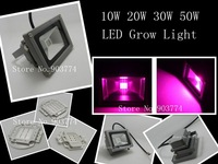 1pcs/lot Promotion Ce Rohs Ac Aluminum No 2014 Brand New 10w 554nm 660nm Hydroponic Plant Flood Led Grow Lights Water Proof