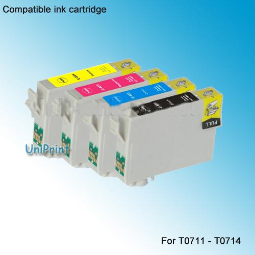 Картридж с чернилами Uniprint 10 t0891 epson T0711 /t0714 D78 D92 D120 DX4000 DX4050 DX4400 DX4450 DX5000 SX100 SX200 t0715 t0711 t0712 t0713 t0714 ink cartridge for epson d78 d92 d120 dx4000 dx4050 dx4400 dx4450 dx5000 dx5050 dx6000 dx6050 sx215