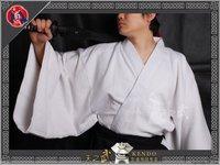 High Quality White Traditional 100% Cotton Samurai Iaido Kendo Gi Martial Arts Kimono Free Shipping