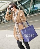 Hot Sale Casual Pure Retro Women Handbags Large Shopping Bags BG0058 Free Shipping