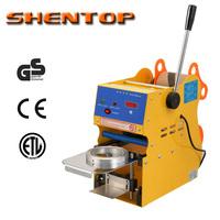 SHENTOP Digital Manual Cup Sealing Machine bubble machine bubble tea machinery  ST-QF01-S