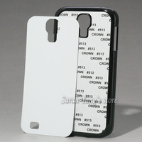 Free Shipping!  DIY Sublimation/Heat Transfer Blank Case with Aluminum Inserts and Glue for Samsung Galaxy S4 I9500