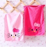 30*50cm Kawaii Hello Kitty Superfine Cotton Quick-Dry Face Towel Children's Cartoon Towel