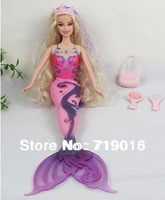 [H&H] Mermaid Princess Doll Fashion Doll top quality Mermaid Toys dolls for girls Dolls & Accessories