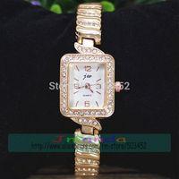 100pcs/lot JW-3473 Square Watch Dial Full Crystal Watch Luxury Ladies Quartz Dress Watch Wholesale Price Girl Bracelet Watch