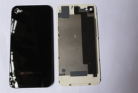 original Black white Glass Battery Cover Back replacement Housing for iPhone4s